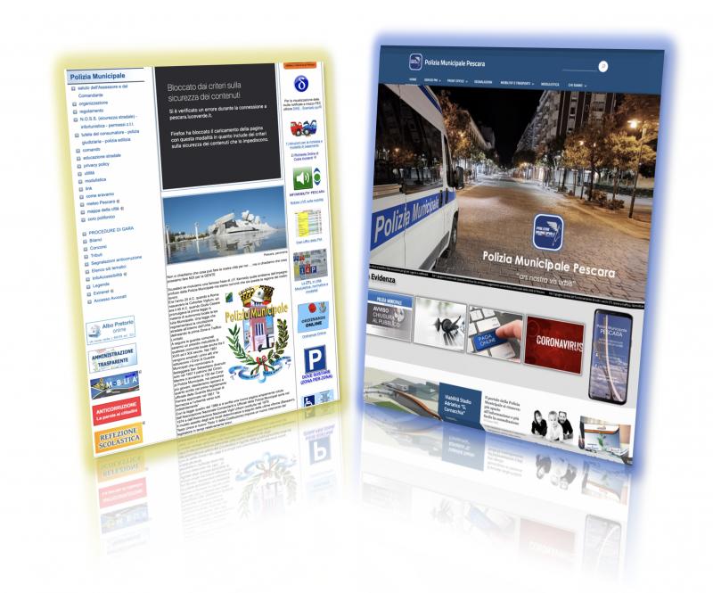 Il portale della Polizia Municipale si rinnova: più spazio all'informazione e più facile la consultazione